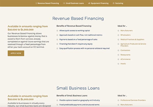 Choose the right type of financing for your business