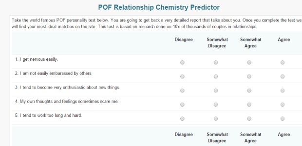 POF Chemistry Predictor
