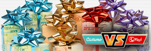 Check out 32Red and Casumo's promotions, bonuses and special offers