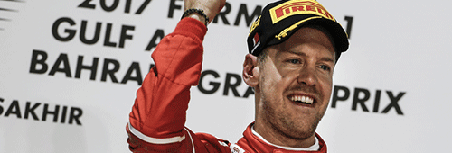 Sebastian Vettel won the Abu Dhabi Grand Prix in 2009, 2010 and 2013