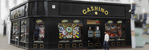 Cashino operates hundreds of bricks-and-mortar casinos in the UK