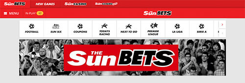 The Sun also has a sportsbook, The Sun Bets