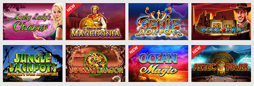 Genting Casino has more than 300 slots games