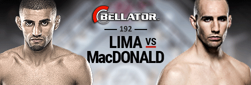 Bellator 192 will feature a fight between Rory MacDonald and Douglas Lima