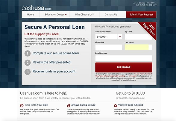 Get a quick personal loan online