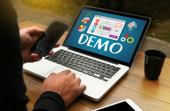 A demo or free trial is a great way to test a new software