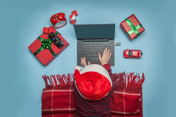 Choose a website builder for the Christmas season