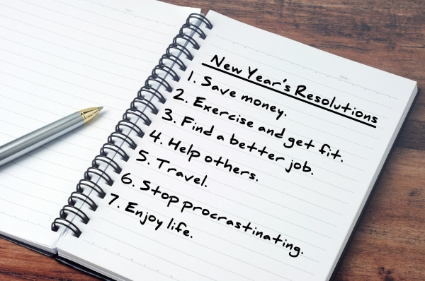 Make New Year's resolutions that are achievable