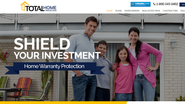 Total Home Protection Homepage