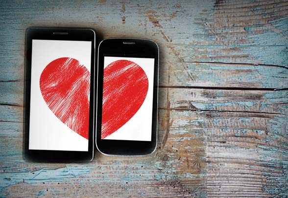 Mobile apps for online dating