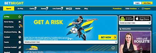 BetBright is a top site to place your sports bets