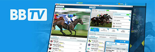 BetBright has its own TV live streaming service, BBTV
