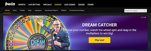 bwin also operates a great online casino