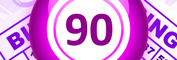 One of the most common bingo games is the 90-ball variety