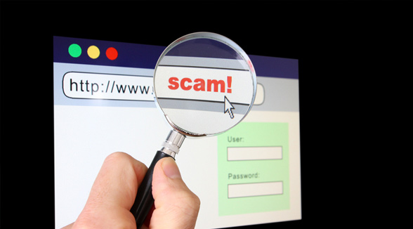 Beware of scams and nefarious folks online