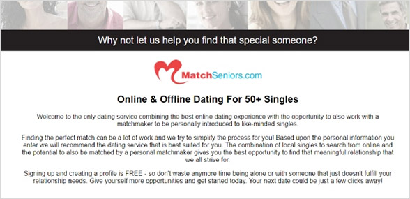overview of matchseniors