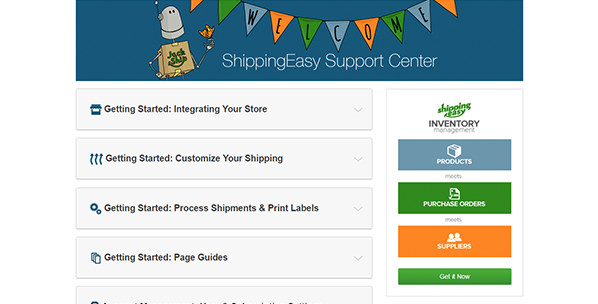 Reach Out to ShippingEasy Customer Support