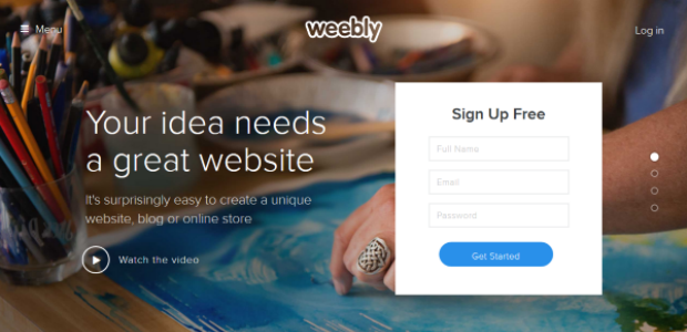 Weebly free website builder for small businesses