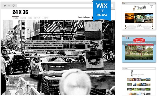 Wix DIY website builder
