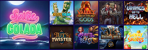 Play a range of games at Party Casino