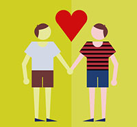 Stats show gay relationship are happier