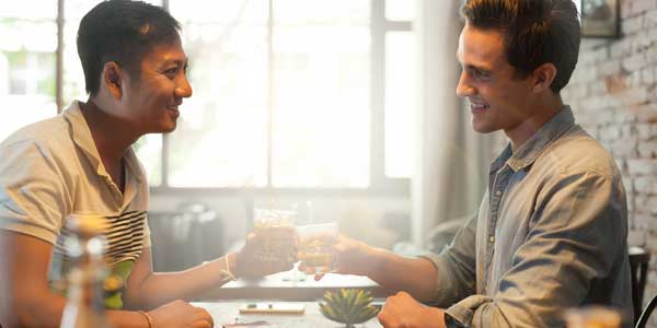 healthy gay relationship advice: set a date night