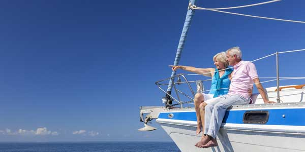Date idea for senior citizens - ocean cruise