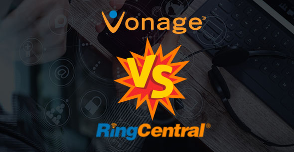 vonage vs ringcentral business voip battle