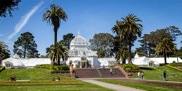 A San Francisco date at Golden Gate Park