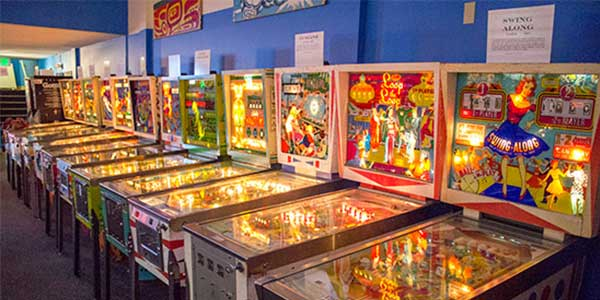 Dating in Seattle: Pinball Museum