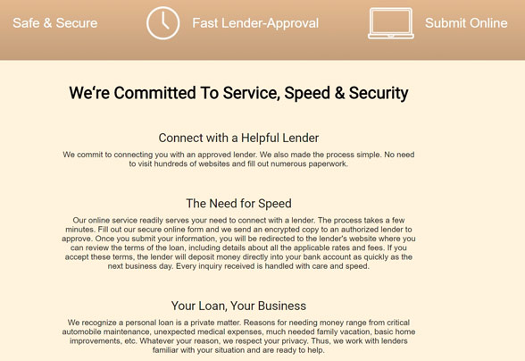 With Brighten Loans you will get great service, speed and security