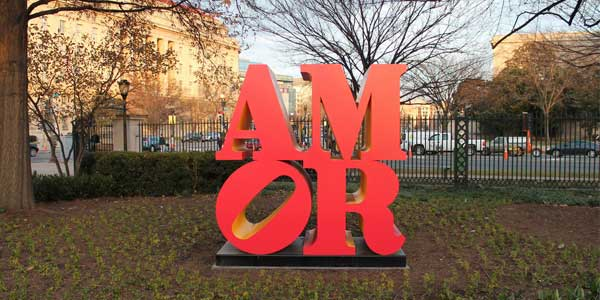 DC singles dating at the Art Sculpture Garden