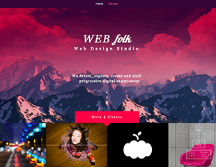 WIX Web Design Studio Template
