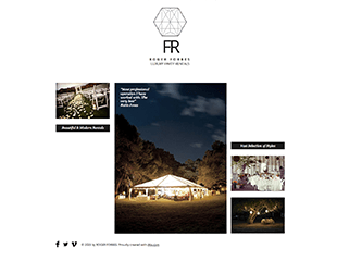 WIX Luxury Party Rentals Template