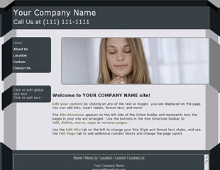 Web.com Business 1 Template
