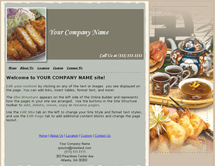 Web.com Business 2 Template