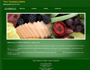 Web.com Business 3 Template