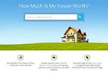 LendingTree's Home Valuation Tool