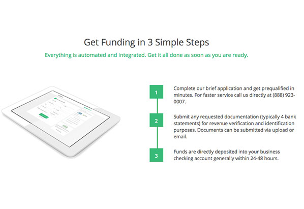 Receive approval and funding in as little as 72 hours