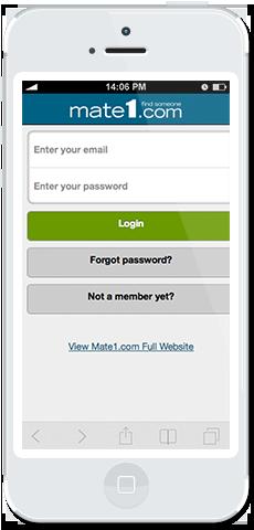 Mate1 com mobile app