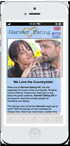 harvest dating uk login