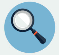 SEO Search Magnifying Glass