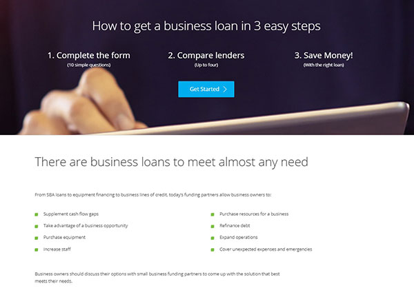 Easily get the loan your business needs