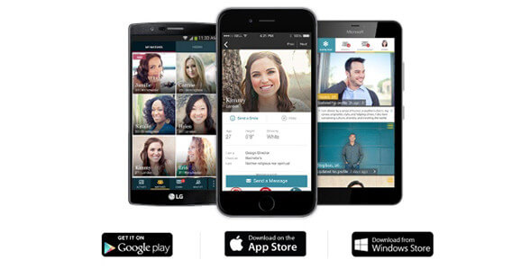 eharmony mobile apps features