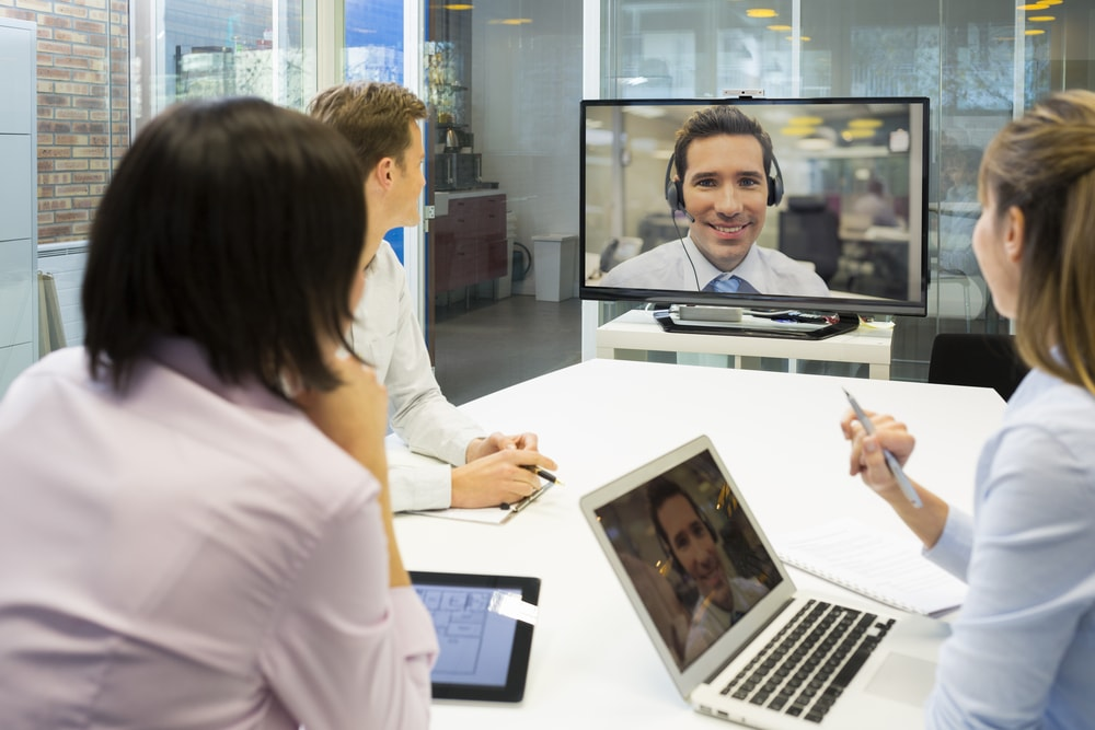 web conferencing with voip