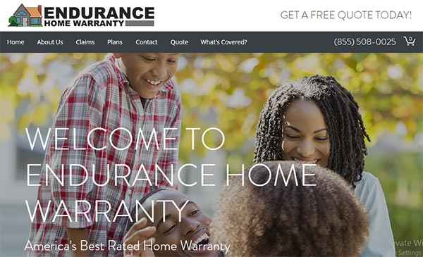 Call Endurance Home Warranty for a free quote