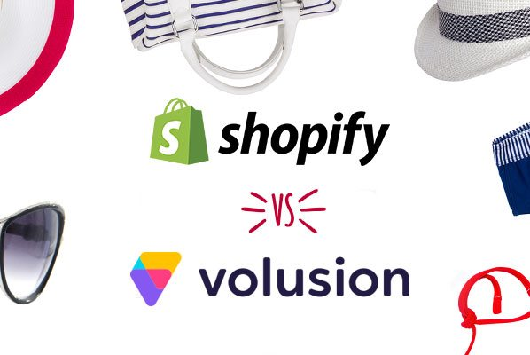 We compare Volusion and Shopify