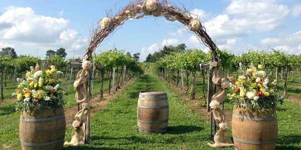 Romantic places in Illinois: Acquaviva Winery