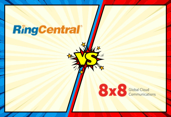 RingCentral vs 8x8 business VoIP battle