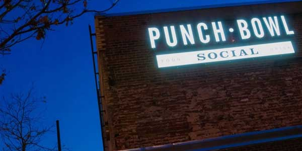 Date night in Denver at Punch Bowl